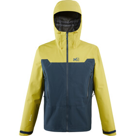 Millet Kamet Light GTX Veste Homme, orion blue/wild lime